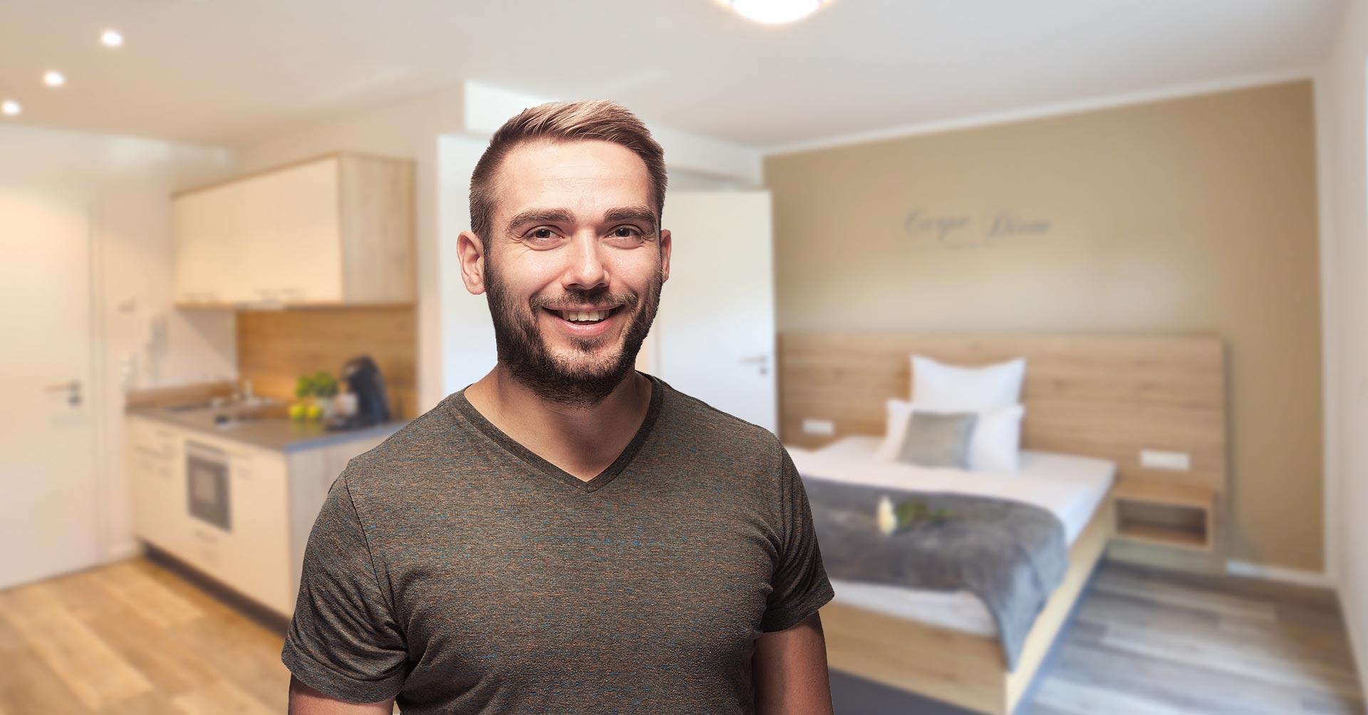 boardinghouse nahe flughafen m nchen exklusiv wohnen auf. Black Bedroom Furniture Sets. Home Design Ideas